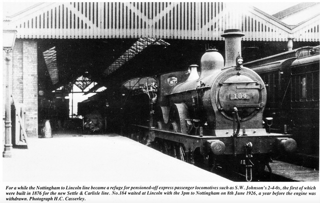 1926 St Marks with S.W.Johnsons 2 4 0 Express loco