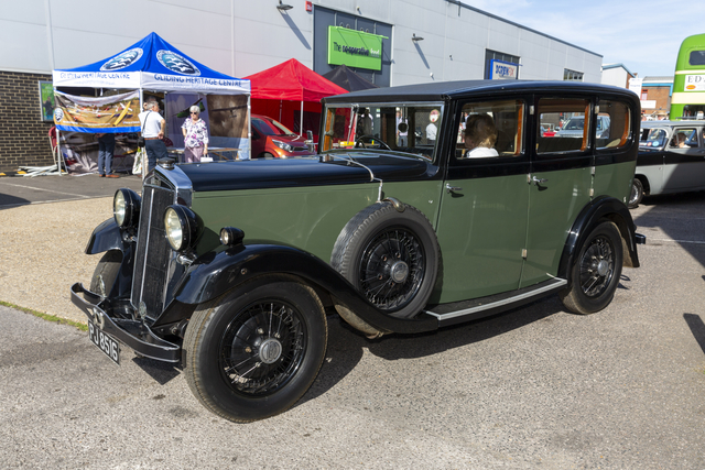Abbotts bodied Lanchester Limousine