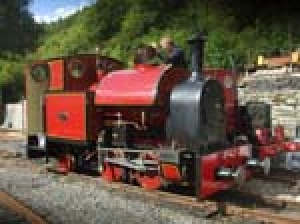 Corris Railway Station Yard