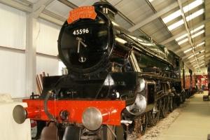 The Bahamas Locomotive Society (BLS) bought 45596 Bahamas in 1967