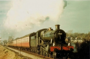 steam locomotive built by British Railways Western region