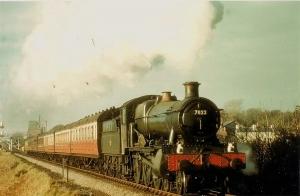 steam locomotive built by British Railways Western region