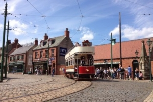 open-air museum located at Beamish