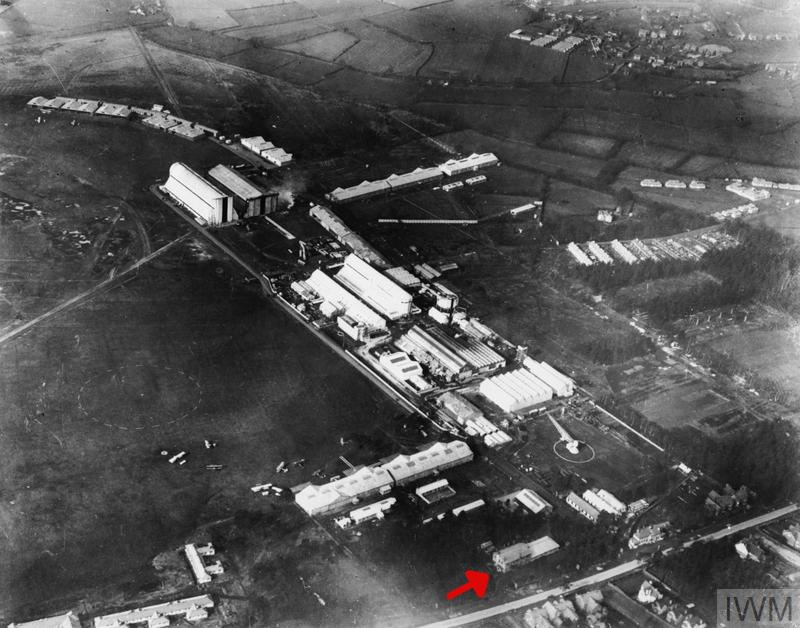 Farnborough - Royal Aircraft Factory pre WW1