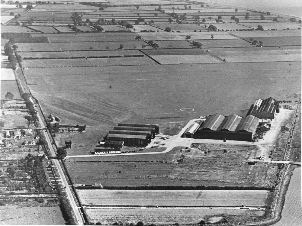 Blackburn Aircraft Factory in 1930 (Photo BAe Systems)