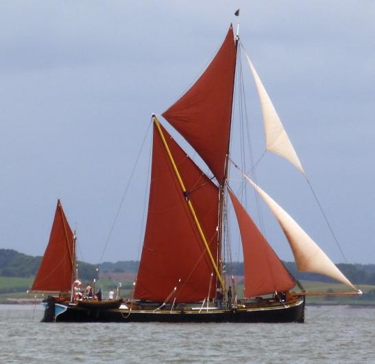 Mirosa under full sail