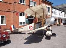 2016 Preservationist of the Year Award Sopwith Camel