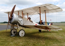 2016 Preservationist of the Year Award Sopwith Scout rest2