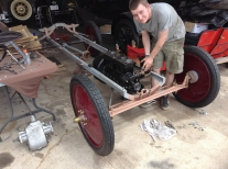 2016 Young Preservationistt Award Meakin Brothers Model T ford Rest2