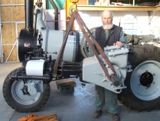 Agritractor and John Sawle